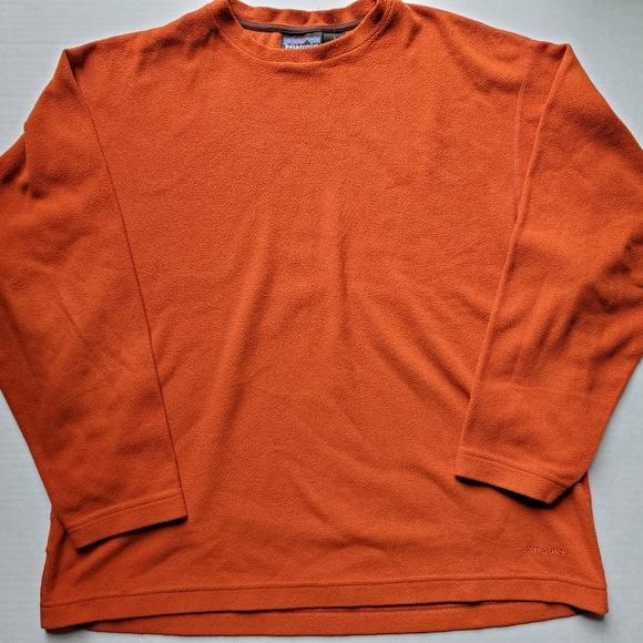 Patagonia Other - Patagonia Synchilla Orange Pullover Fleece USA L